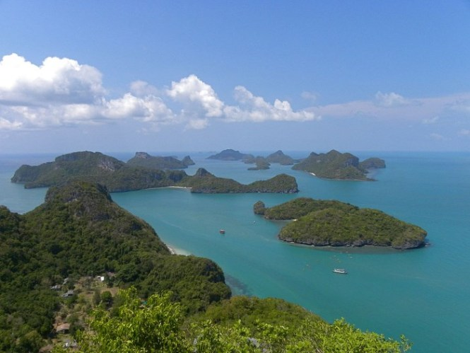 Ang Thong National Park - TOP 10 MOST BEAUTIFUL ISLANDS IN THAILAND
