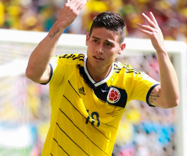 James Rodriguez - TOP 10 MOST EXPENSIVE SOCCER TRANSFERS