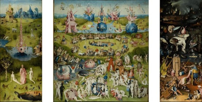 Jheronimus Bosch tuin der lusten - TOP 10 MOST FAMOUS DUTCH PAINTERS OF ALL TIME