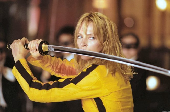 Kill Bill 1 - TOP 10 ACTION MOVIES WITH A WOMAN IN THE LEADING ROLE