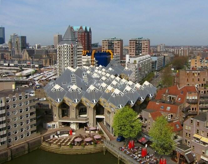 Kubuswoningen - TOP 10 UNIQUE SIGHTS IN THE NETHERLANDS