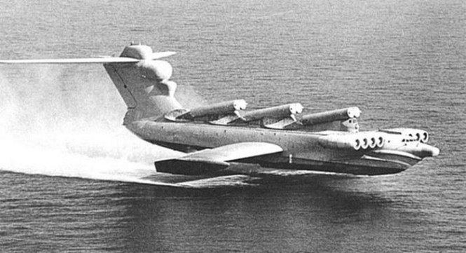 Lun class Ekranoplane - TOP 10 Experimental Strange Aircraft weird looking aircrafts designs that really exsist