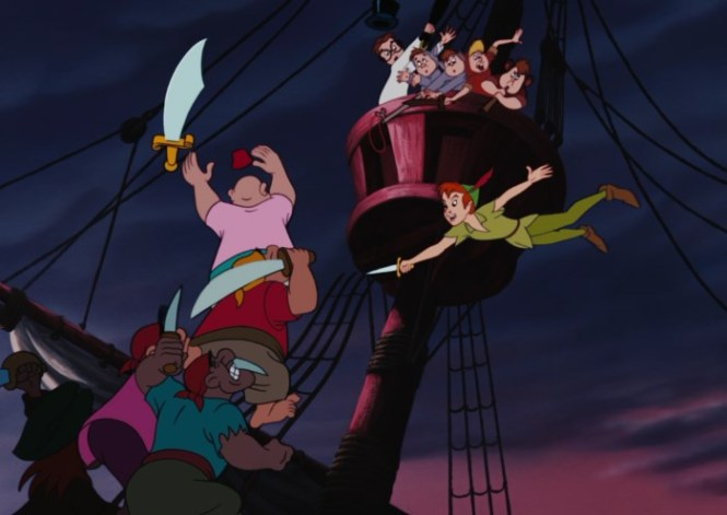Peter Pan - TOP 10 BEST PIRATE MOVIES OF ALL TIME