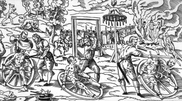Radbraken - TOP 10 Terrible martyrs of the Middle Ages