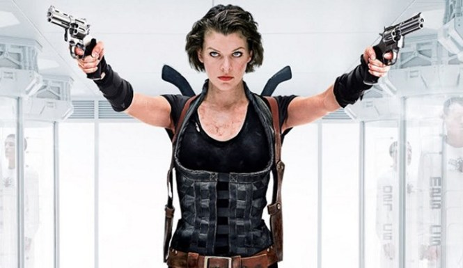 Resident Evil - TOP 10 ACTION MOVIES WITH A WOMAN IN THE LEADING ROLE