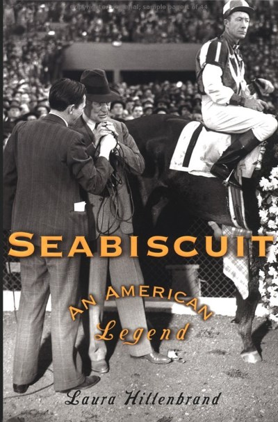 Seabiscuit An American Legend - TOP 10 BEST SPORTS BIOGRAPHIES BOOKS