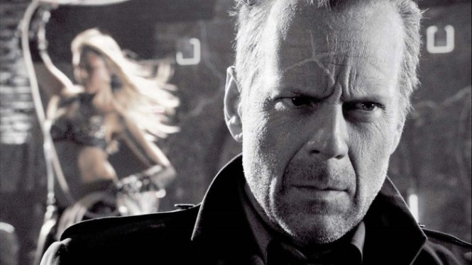 Sin City - TOP 10 BEST BRUCE WILLIS MOVIES