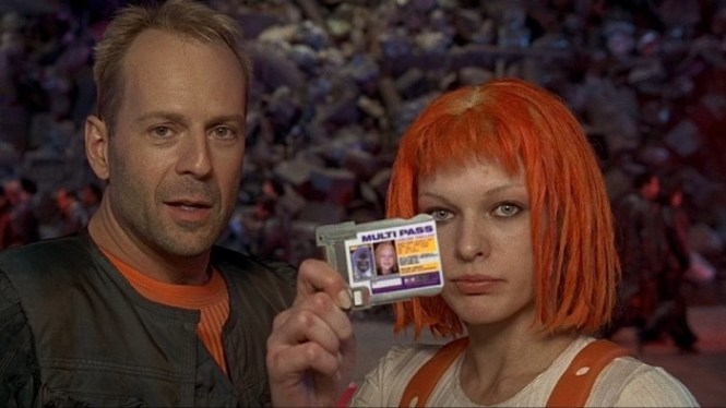 The Fifth Element - TOP 10 BEST BRUCE WILLIS MOVIES