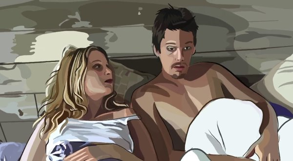 Waking Life 2001 - Top 10 Animated Movies For Adults