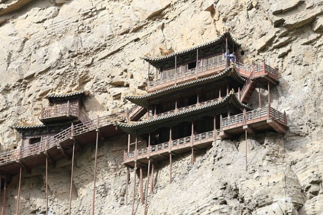 Xuankong - TOP 10 MOST BEAUTIFUL MONASTERIES IN THE WORLD