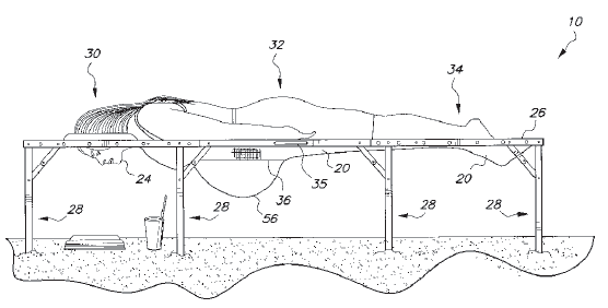 zwangerschaps strand stoel - TOP 10 VERY WEIRD AND STRANGE PATENTS