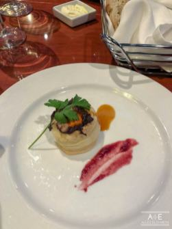 Braised Rabbit in a Puffed Pastry
