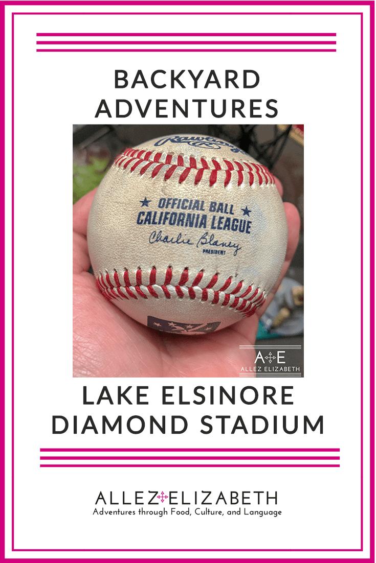 Baseball Backyard Adventures: Lake Elsinore Diamond Stadium (Minor League Baseball)