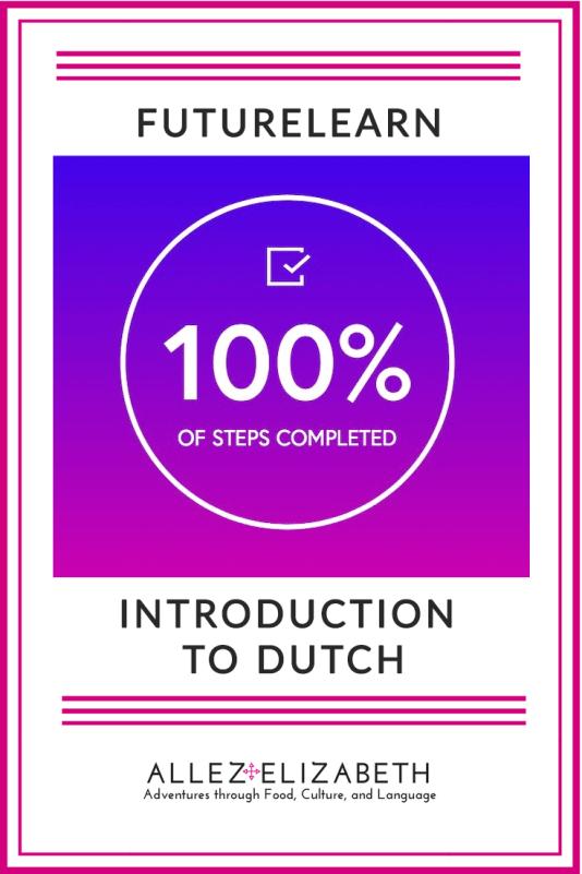 FutureLearn Introduction to Dutch by Allez Elizabeth