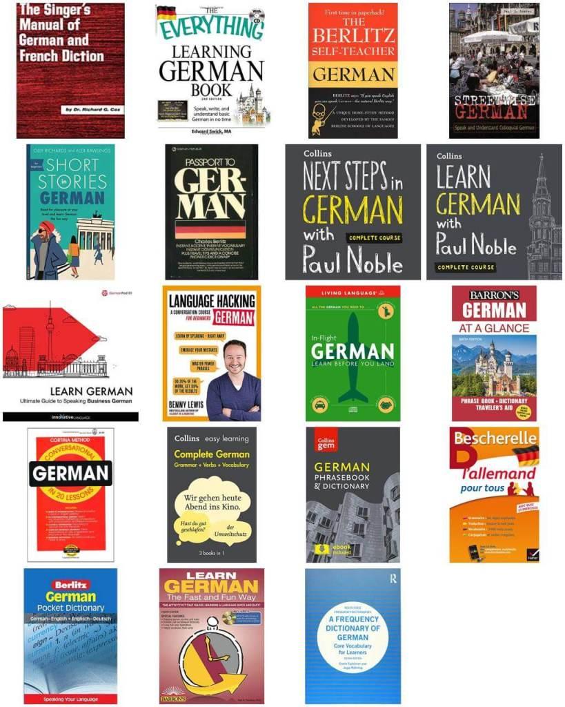 Allez Elizabeth GERMAN LANGUAGE LEARNING RESOURCES BOOK LIST