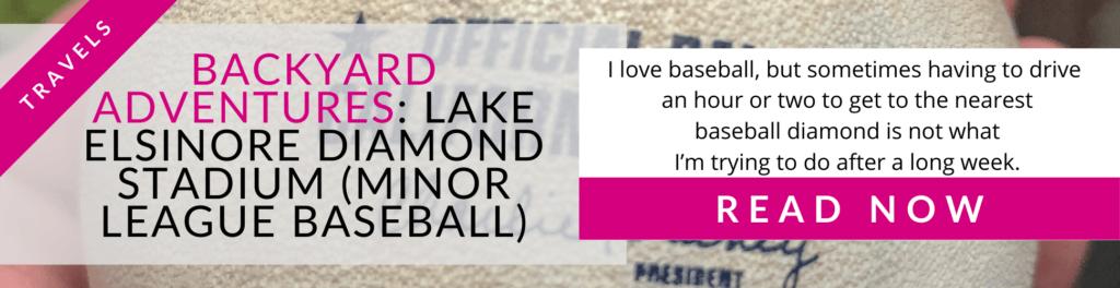 Allez Elizabeth - BACKYARD ADVENTURES Lake Elsinore
