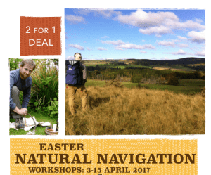 Easter Natural Navigation workshops 3-15 April 2017