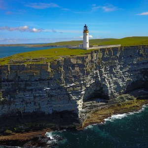 Lighthouse on Westray