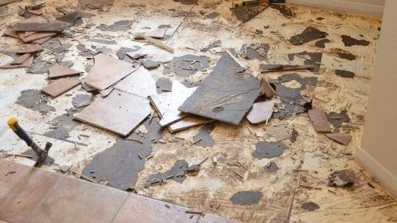 how to remove ceramic tile adhesive from concrete floor alliance flooring directory