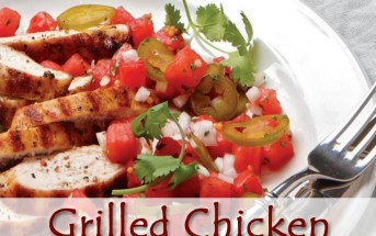 Grilled Chicken with Watermelon