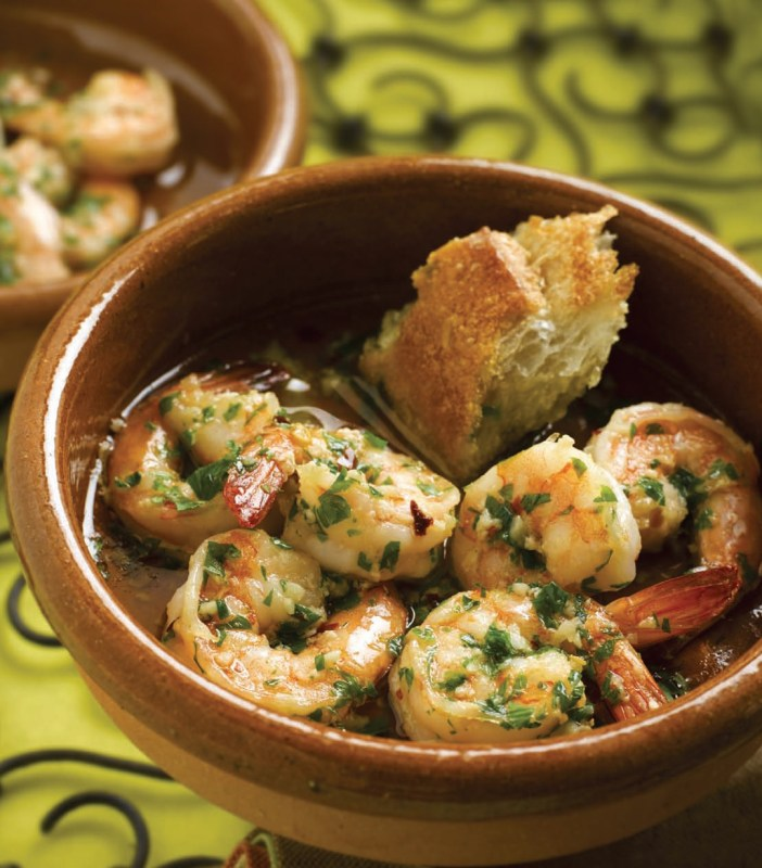Sizzling Garlic Shrimp Gambas Al Ajillo All Food Chef