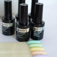 Pastelowe lakiery hybrydowe Beautilux