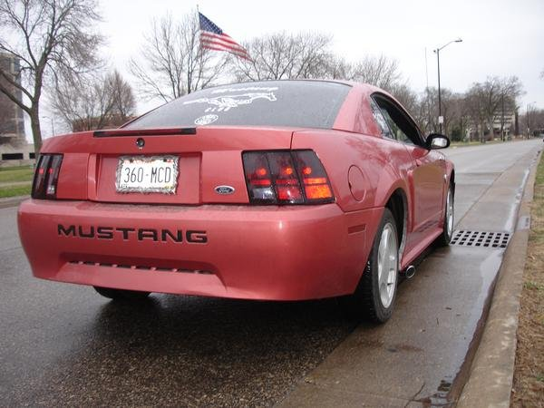 2004 mustang 40th anniversary side