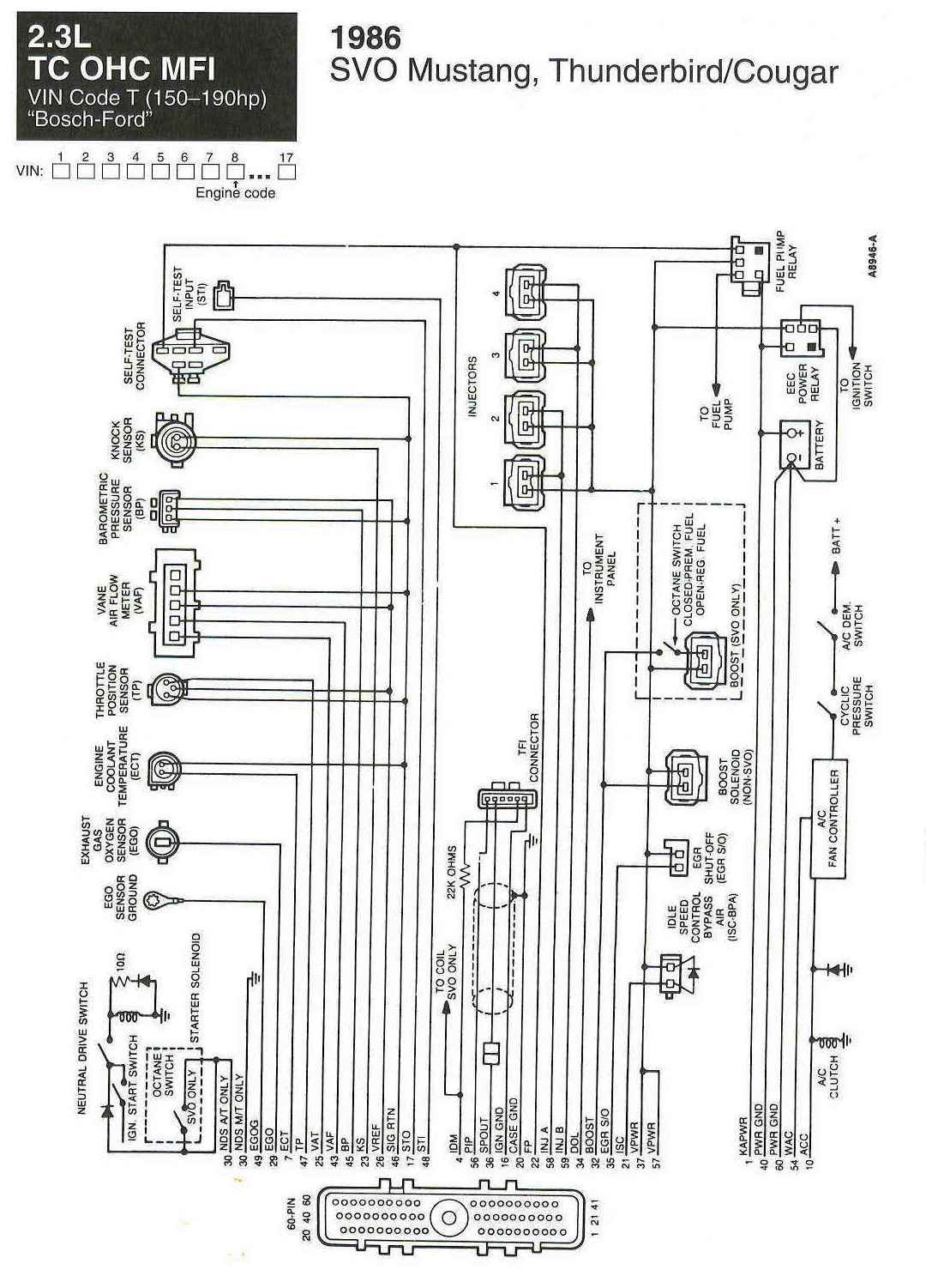 89 Mustang Ecm Wiring Diagram