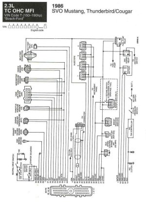 wiring diagrams for svo  Ford Mustang Forum