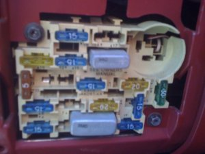 Pic needed of 1989 Mustang 23 fuse box  Ford Mustang Forum