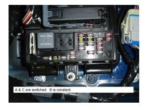 need directions on which wires to tap into for gauges  Ford Mustang Forum
