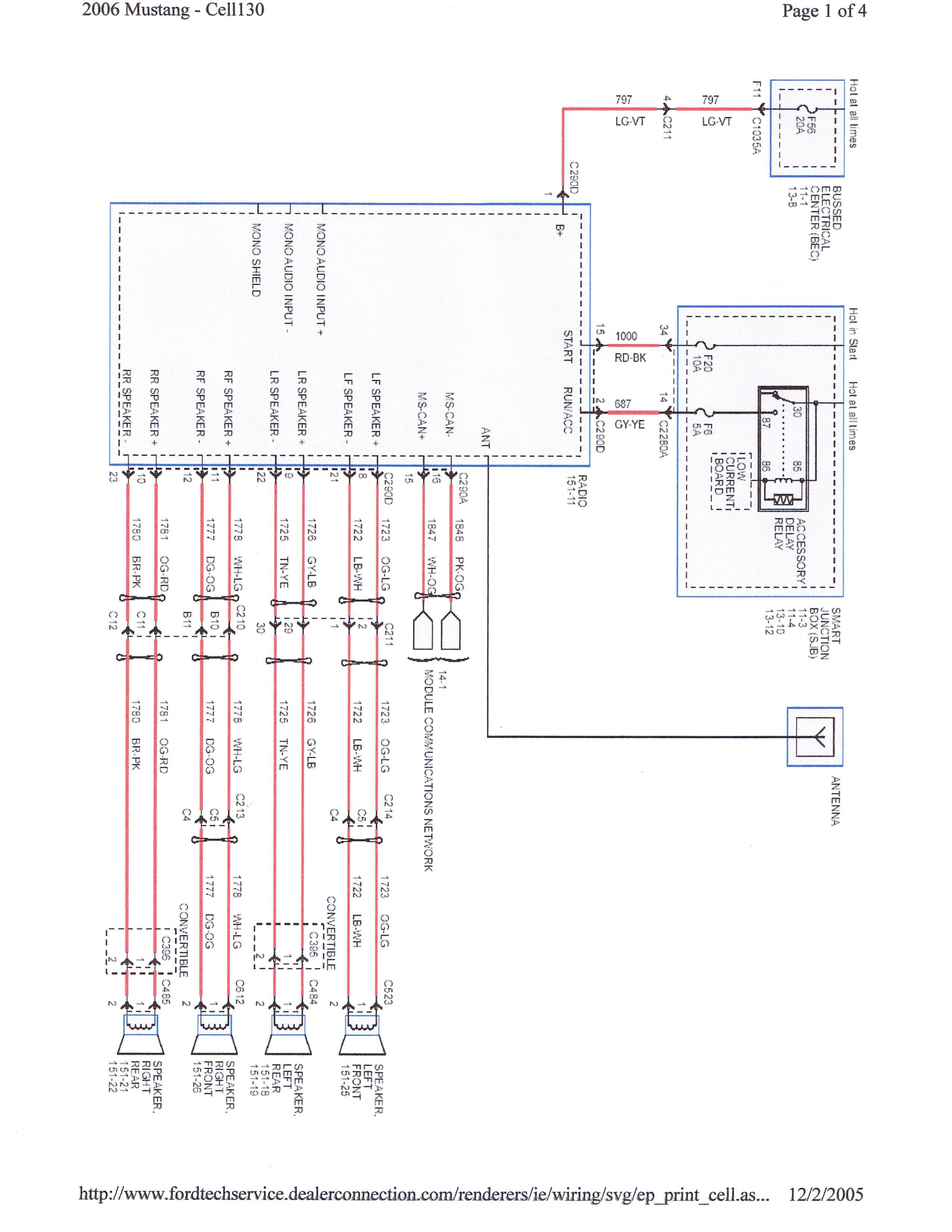 460 Harness Wiring Mach