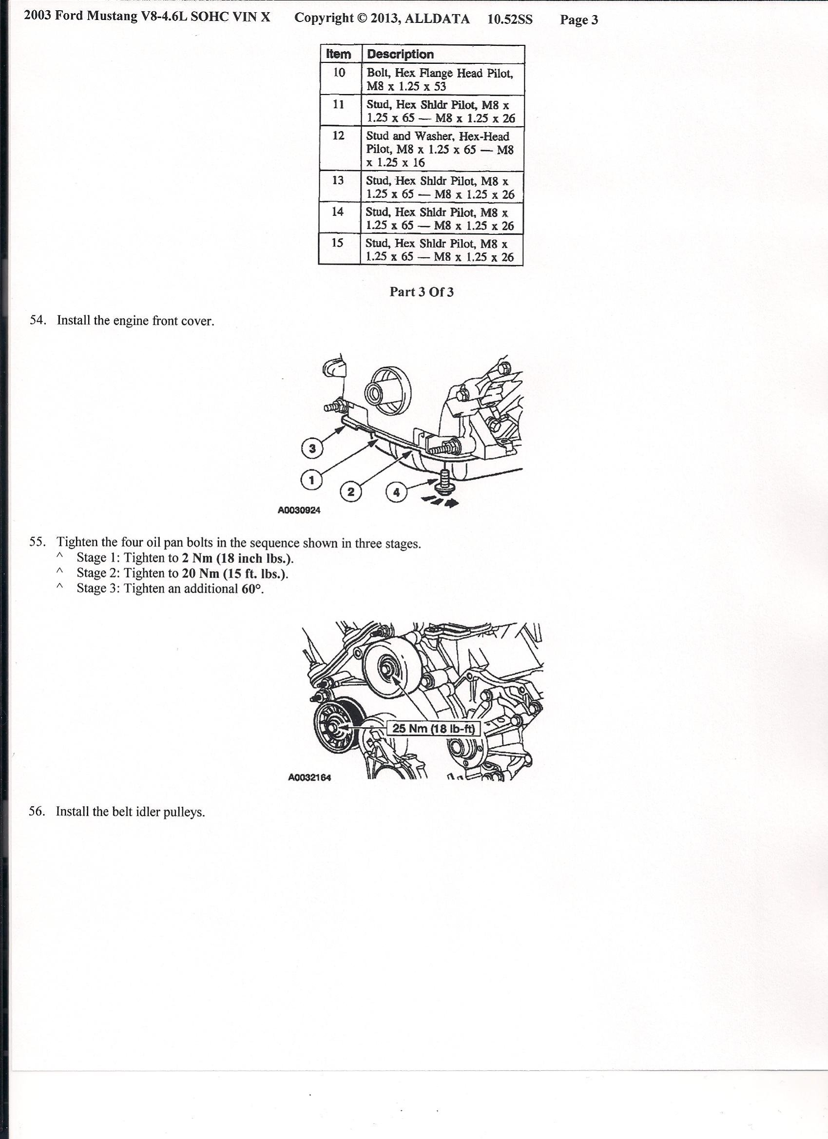 4 6 Sohc Engine Diagram