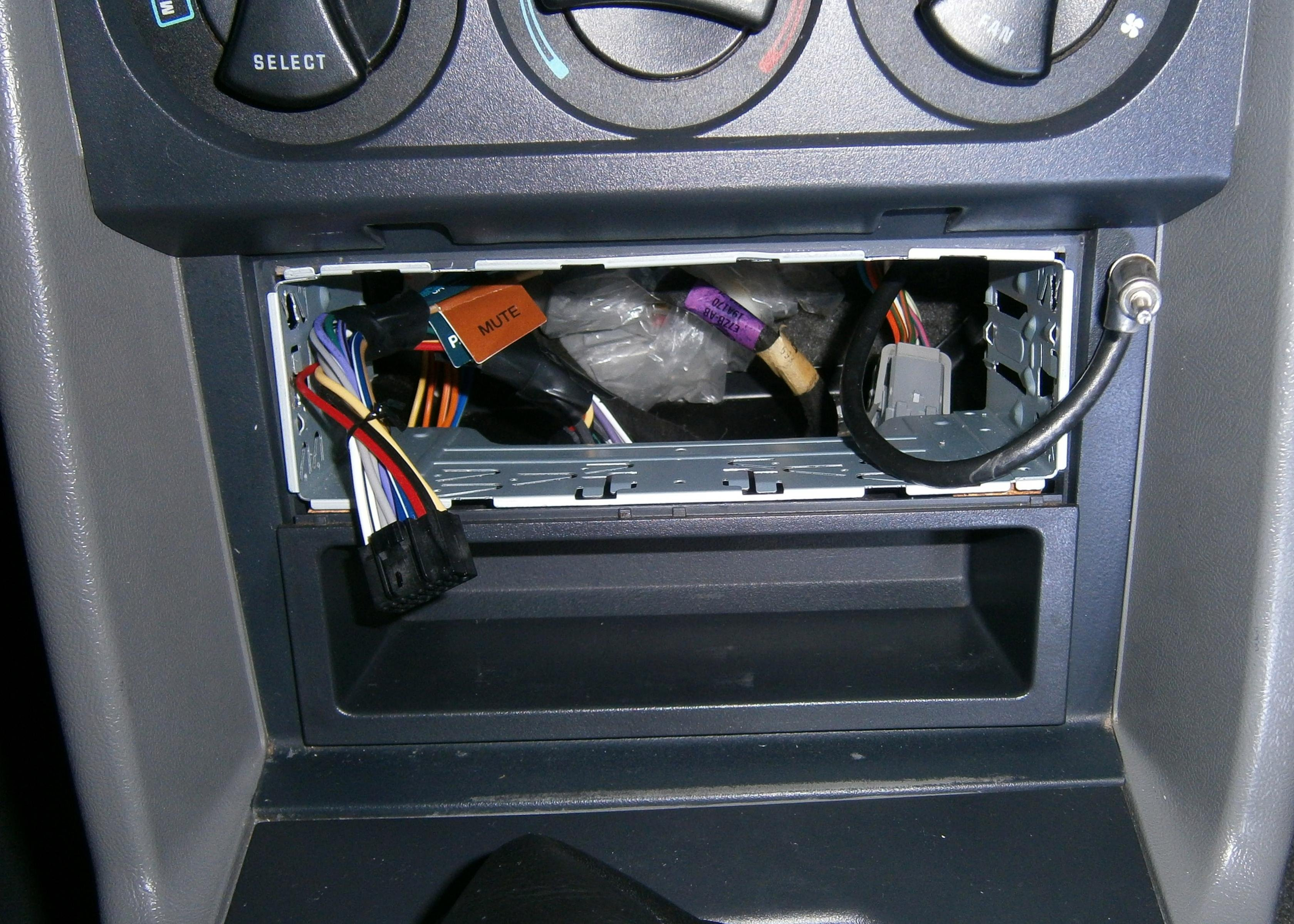 Ford Stereo Wiring