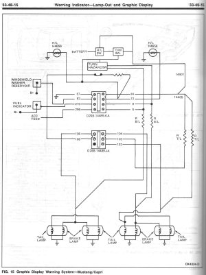 Fig 2 Wiring Diagram 1979 Mustang And Capri | Wiring Library