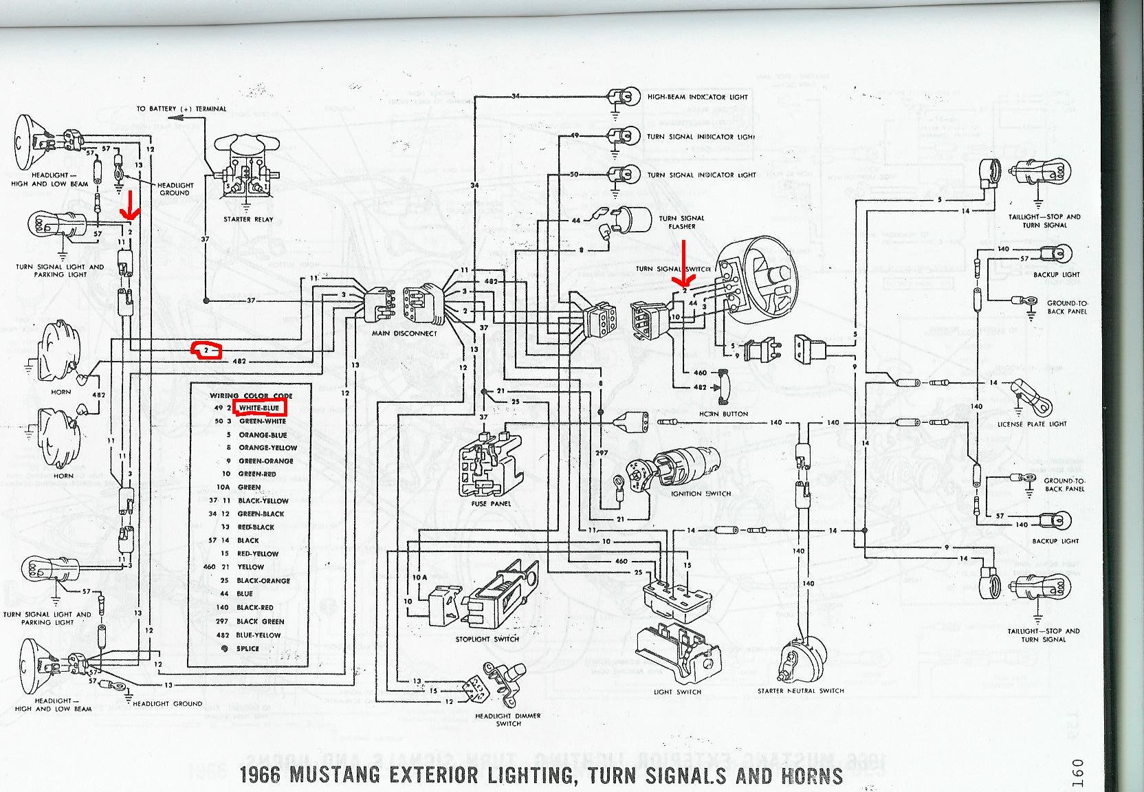Mustang Instrument Wiring Diagram