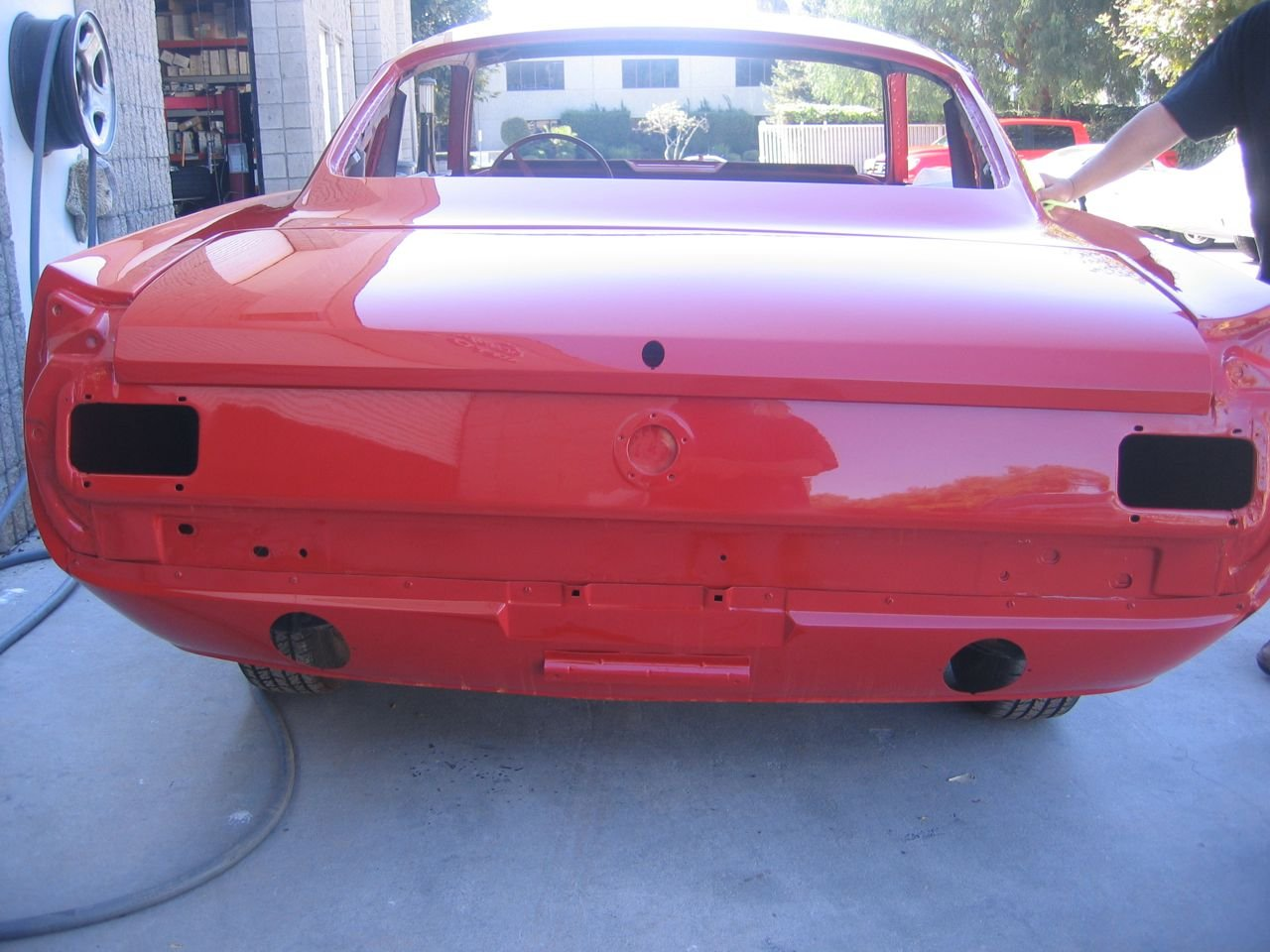 Mustang Coupe Rear Valance