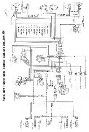 1990 Ford Mustang Headlight Diagram | Wiring Diagram Database
