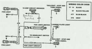 Wiring fog lights to Summit Universal wiring harness  Ford Mustang Forum