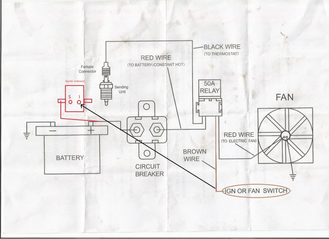 wiring diagram for electric fan wiring diagram taurus electric fan conversion vettemod