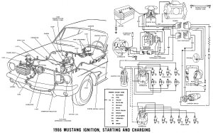 1966 Mustang Wiring  Ford Mustang Forum