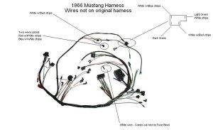 1966 Under Dash Wiring Help  Ford Mustang Forum