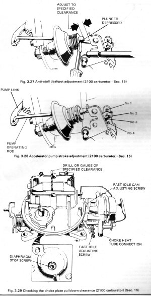 2100 carb diagram  Page 2  Ford Mustang Forum
