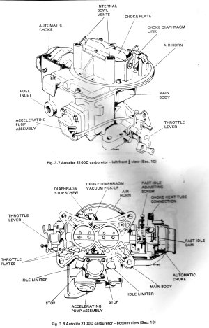 2100 carb diagram  Page 2  Ford Mustang Forum