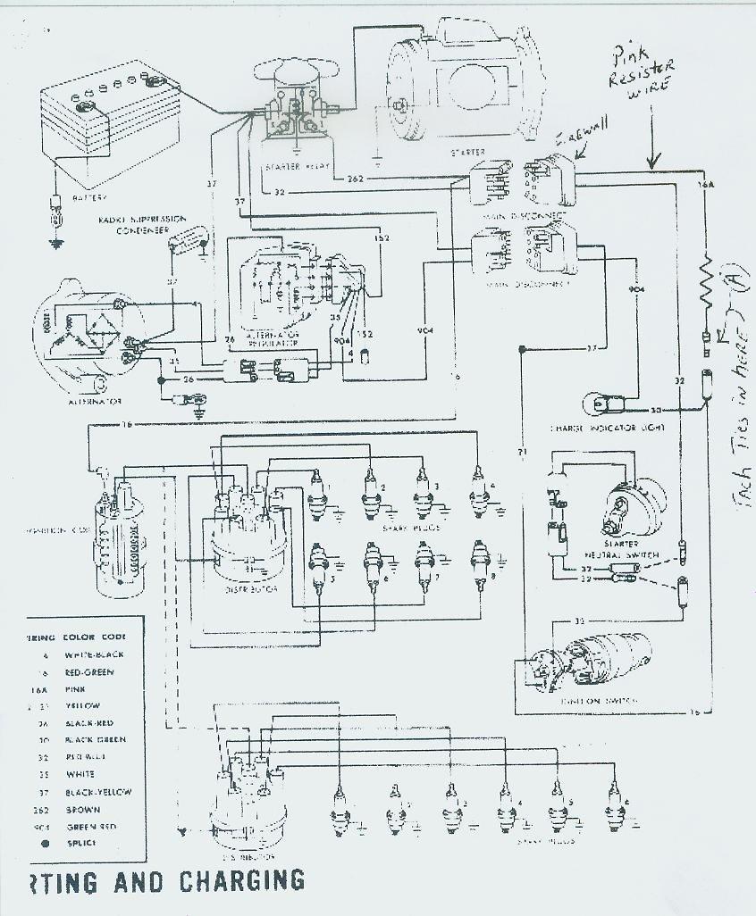 Ford Tachometer Wiring DiagramTachometerAuto Engine Wiring - 1966 chevelle tachometer wiring diagram