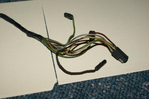 Twospeed wiper motor harness for 1966 Mustang  Ford
