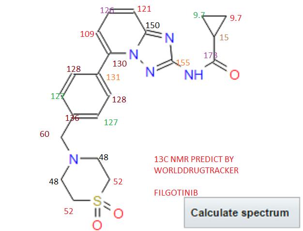 13C NMRDB VAL