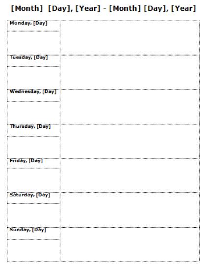 Weekly Planner Template, Weekly Planner, weekly schedule template, weekly planner template excel, weekly planner spreadsheet, weekly planner template pdf, cute weekly planner template, teacher weekly planner template, weekly calendar template,