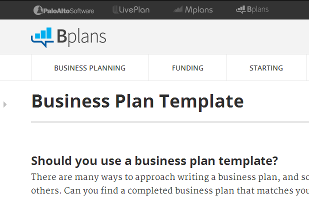Free Business Plan Templates Samples Formats And Examples - Template business plan