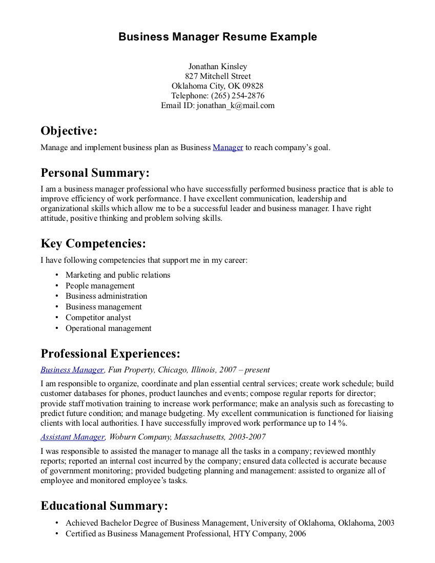Top 10 Professional Free Resume Template Microsoft Word Examples